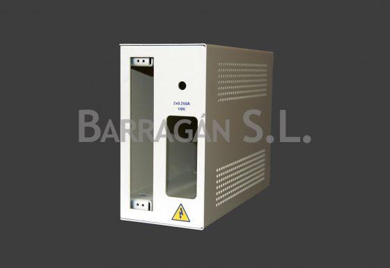 Caja detectores